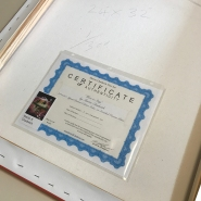 Certifict edge 1